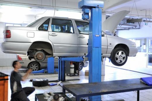 Changement pneus