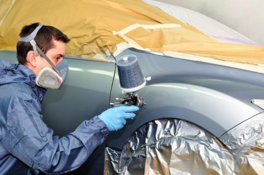 Carrossier, peinture auto